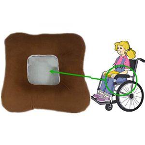 Hémorroïdes Pad, anti-decubitus coussin fauteuil roulant siège confortable approprié pour la foule sédentaire,Brown,L (Letter trade, neuf)