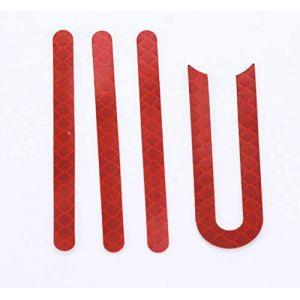 Flycoo Autocollant Bande réfléchissante pour Xiaomi M365 Trottinette électrique Scooter Accessoire sécurité (Flycoo, neuf)