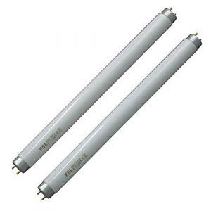 Paquet de 2 ampoules Bug Zapper 10 W, ampoule UV T8 pour 20 W Bug Zappers, tueur d'insert anti-moustique, remplacement de la lampe électronique du tube UV à la maison (Mitoo, neuf)
