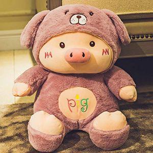 Peluche petit cochon de couchage oreiller cochon poupée poupée chiffon poupée mignon chiffon poupée cadeau d'anniversaire-3_60 cm (lizhaowei531045832, neuf)