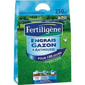 FERTLIGENE Engrais Gazon+Anti-Mousse 10kg élimine durablement Les mousses MOU250 (Toututile, neuf)