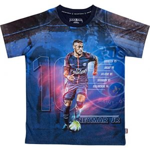 PSG Maillot Neymar Jr - Collection Officielle Paris Saint Germain - Taille Enfant 8 Ans (MISTERLOWCOST, neuf)