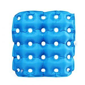 Coussin gonflable, coussin conçu pour les hémorroïdes, les plaies de lit, la douleur tailbone, prostatite, approprié pour les personnes sédentaires (Letter trade, neuf)