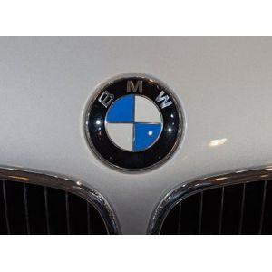 BMW Authentique emblème BMW pour capot Avec douilles (Global Electronic Seller, neuf)