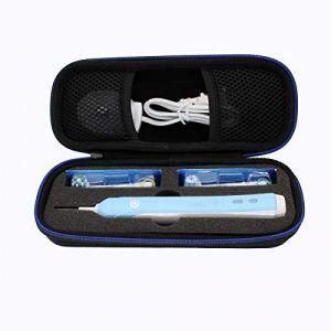 Portable Dur Voyage Cas Sac étui pour Oral-B Pro 600 700 1000 2000 2500 3000 Brosse à dents électriqu par GUBEE (VANLAISHOP, neuf)