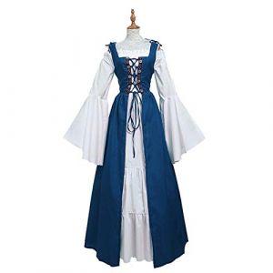 BCOGG 2019 partie rétro Renaissance victorienne médiévale gothique longues robes plus si Maxi robe de bal moyen âge robe de bal XXXL comme le montre (chengduqinlanshangmaoyouxiangongsi, neuf)