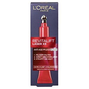 L'Oréal Paris Soins yeux RevitaLift Laser X3 15 ml (produits discount, neuf)