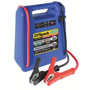 Gyspack 400Chargeur de batterie de voiture portable Aide au démarrage et alimentation (RDLB, neuf)