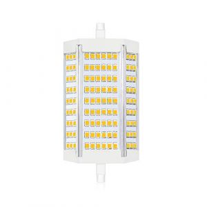 Bonlux 30W R7s Dimmable 118MM ampoule led Blanc Froid 6000K J118 projecteur double extrémité 3000lm équivaut à 300W ampoule halogène pour maison, salon, balcon, bureau, hôtel, restaurant, etc(1pcs) (BionteEU, neuf)
