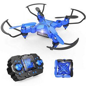 DROCON Drone 901H Mini Pocket Helicoptère télécommandé Caméra Mode sans Tête Altitude Hold Mode Quadcopter à Bras Pliable 3D FLIPS ET ROLLS (ST. Direct EU, neuf)