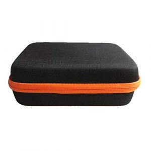 Guoyihua Huile essentielle-Boîte de rangement-Portable Sac de rangement pour 30bouteilles d'huile essentielle, rose rouge, 15 ml (YIHUA, neuf)