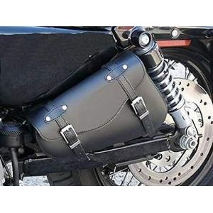 Harley Davidson Sacoche pour gauche XL 883 1200 compatible Sportster 48 1200X Super Low Nightster 1200N et Iron 883I Forty Eight Seventy Two 72 Custom Roadster 1200R (LIZARDMOTO, neuf)