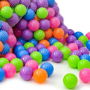LittleTom 2000 Balles colorées Ø 6 cm pour remplir piscines à Boules de bébé (einspreis, neuf)