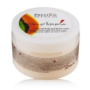 Vip's Prestige Crème hydratante et raffermissante pour le visage et le corps avec la mangue et la papaye (Rosa Belleza, neuf)