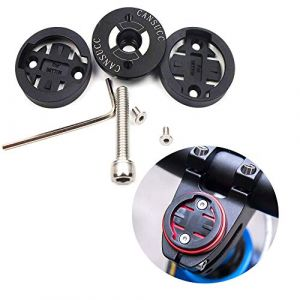 CYSKY Garmin Edge Support pour Tige de vélo pour Ordinateur Garmin Bryton Cycling GPS, Compatible avec Garmin 1000, 820, 810, 800, 520, 510, 500, 200 et Bryton 530 330 310 100 (Noir) (CYSKY SHOP, neuf)