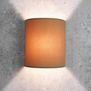 Tissu Applique murale de couleur café-crème Loft moderne élégant Applique murale ALICE (Licht-Erlebnisse, neuf)