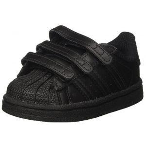 adidas Superstar CF I, Chaussures de Fitness Garçon Mixte Enfant, Noir (Negbas 000), 25.5 EU (CORE A CORE, neuf)