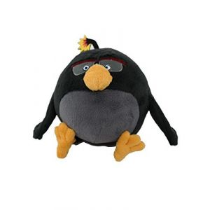 "Angry Birds Movie 7"" Plush: Bomb (uktoyworld, neuf)"