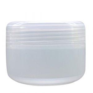 Bodhi2000 Lot de 5 pots de maquillage de voyage, vides, rechargeables, en plastique, pour crème/lotion/poudre  transparent transparent 100 (Bodhi2000, neuf)