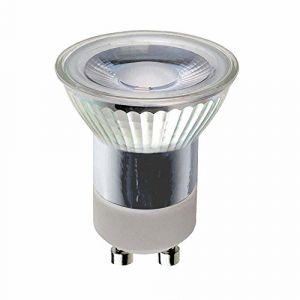 Ampoule LED à réflecteur MR11 - 2W=20 W - Culot: GU10 - 230 V / 200 lm - Blanc chaud - 3000 K - 36°., 2w = 20w, GU10, 2.00W, 230.00V (ncc-design, neuf)