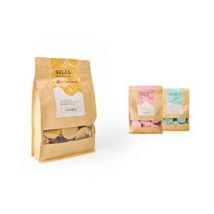 Cire dépilatoire SELAS Natural Easy Melt 1kg. Épilation sans bandes, à la cire d'abeille, pour toutes les zones et types de peau. (FLOK, neuf)