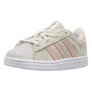 adidas Superstar I, Basket Garçon Mixte Enfant, Gris (Griper Roshel Roshel), 27 EU (The Sneakers, neuf)