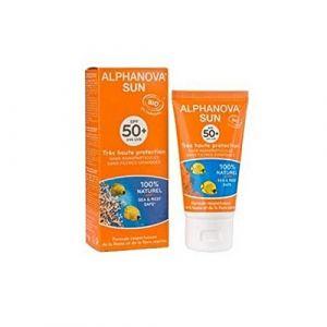 Alphanova Crème solaire Corporal F50 Bio 125 ml (María Verde, neuf)