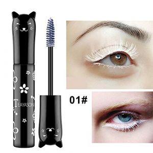 Mascara coloré de cils - Mascara cosmétique multicolore beau et mignon la conception est facile à mettre en application (ZHUOHONG, neuf)
