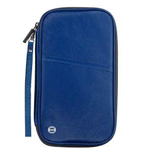 portefeuille portefeuille passeport billet d'avion titulaire de la carte rfid blocage sac de rangement organisateur de documents (Prottrepon, neuf)