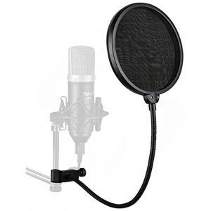 YOUSHARES Micro Filtre Anti Pop Pour Bird UM1 et La plupart des Microphone, Pare-Brise Anti Vent Améliorer la Qualité du son (Heartorigin-FR Direct, neuf)