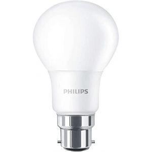 Philips Ampoule LED avec culot à baïonnette B22, 9W, 230V Blanc chaud effet dépoli, Synthétique, B22, 8 wattsW 240 voltsV (The LED Specialist, neuf)
