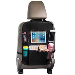 """Organiseur pour siège de voiture,housse siege protection auto pour enfants bébé dossier protege organiseur de siege voiture avec jouet/10""""iPad porte tablette, protégé siege de voiture organiseurs (Dream Beauty Zone, neuf)"""