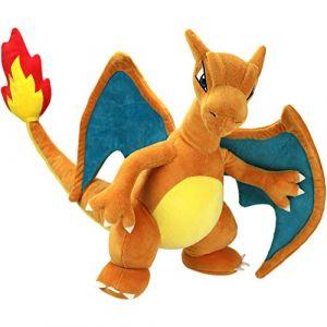 Bandai - Pokémon - Peluche 30 cm - Dracaufeu - WT95262 (Symbizon, neuf)