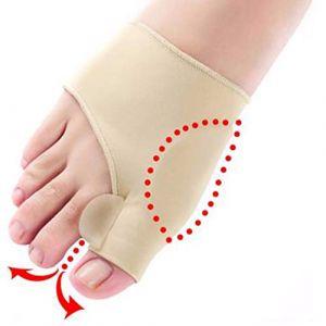 1 paire doux Bunion protecteur orteil lisseur Silicone orteil séparateur correcteur pouce pieds soin ajusteur hallux valgus (jinpp, neuf)
