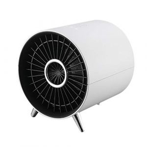 Cuisinières électriques chauffage rapide Radiateur Soufflant Mini Chauffage d'appoint Céramique Silencieux 1000W Chauffe Rapide pour Bureau Maison Chambre de Bébé Serria (Serria, neuf)