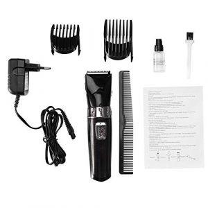 Tondeuse à cheveux électrique - Surker Men étanche Rechargeable sans fil tondeuse à cheveux électrique tondeuse à cheveux(noir) (Fictory-EU, neuf)