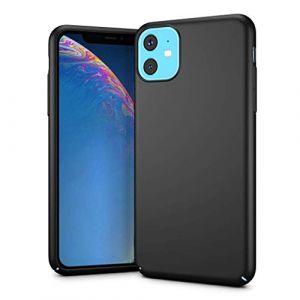 """Coque pour iPhone 11, Matière PC - 6.1"""" - [Ultra Mince] [Ultra Léger] Anti-Rayures, Anti-dérapante pour iPhone 11 6.1pouces(2019) (Noir) (MuSheng, neuf)"""