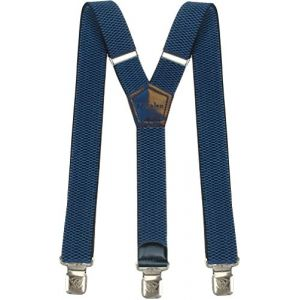 Bretelles Y entièrement réglable pour Homme Femme 4 cm avec 3 clips élastique Solide Casual Pantalon Jeans Différentes couleurs Noir, Marron, Bleu (Bleu Clair) (Decalen France, neuf)