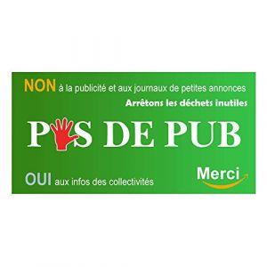 Autocollant.fr Stickers pas de publicité (Arthur.T accessories, neuf)