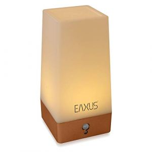 Eaxus® Lampe de nuit - Lampe de chevet sans fil avec détecteur de mouvement et détecteur crépusculaire (EAXUS - home electronics from Germany, neuf)