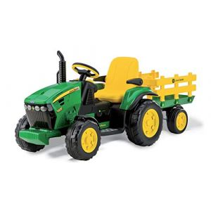 Peg Perego - OR0047 - Vehicule Miniature - Tracteur Jd Ground Force (More-Play, neuf)