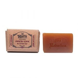 MI REBOTICA SAVON AU SOUFRE BIO ANTI-ACNE 115 gr (MI REBOTICA, neuf)