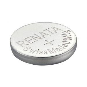 2 x renata montre bracelet pile - fabriqué en Suisse - Batteries Cells argent oxyde 0% mercure GRATUIT PILE BOUTON 1.55V Renata longue durée batteries - Argent, 377 (SR626SW) (dEcolectrix, neuf)