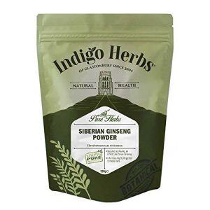 Indigo Herbs Ginseng Sibérien (Eleuthérocoque) en poudre (500g) (Indigo Herbs of Glastonbury, neuf)