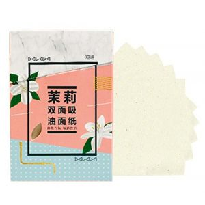 Hommes Femmes Summer Oil Control buvard peau papier buvard 300 feuilles, Jasmine Parfum (Koala Superstore EURO, neuf)