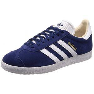 adidas Gazelle W, Chaussures de Fitness Femme, Bleu (Indnob/Ftwbla/Lino 000), 37 1/3 EU (Plutosport, neuf)