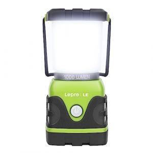 LE Lanterne Camping LED, Lampe Camping Puissante 1000lm, Luminosité Réglable, Eclairage Camping Etanche, pour Camping, Bivouac, Pêche, Randonnée, Cave, etc. (Home MART, neuf)