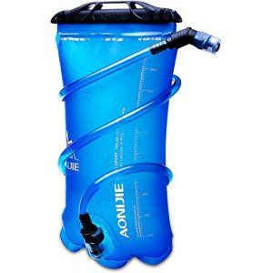 TRIWONDER Réservoir d'eau Libre de vessie d'hydration de 1.5-2-3L BPA pour Le vélo Faisant de la randonnée Le Sac à Dos de Camping (1.5L / 50oz (TPU)) (Triwonder (FR), neuf)