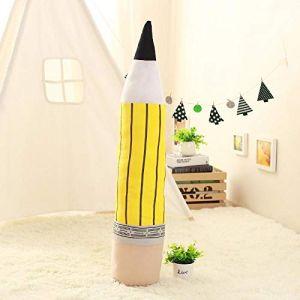 Peluche personnalité créative crayon oreiller coussin poupée poupée fille cadeau-Crayon-jaune_85 cm (lizhaowei531045832, neuf)