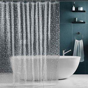 Rideau transparent douche transparent - Comparer 98 offres